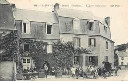 CPA 29 Finistère Saint-Jean-du-Doigt St L'Hôtel Saint Jean Attelage Calèche - Saint-Jean-du-Doigt