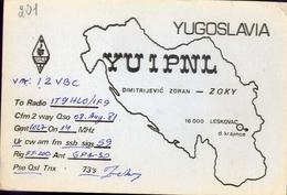 Radio - Vm 12vbc - Yu I Ppml - Leskovac - Radio Amatoriale