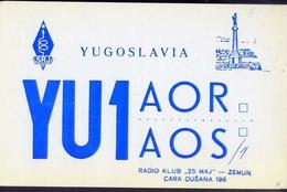 Radio - Yugoslavia - Yu1 Aor - Zedmun - Radio Amatoriale