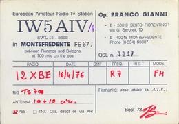 Radio European Amateur Radio Tv Station - Iw5aiv - Montefredente - Sesto Fiorentino - Radio Amatoriale