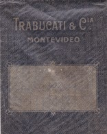 1940'S URUGUAY COMMERCIAL COVER-TRABUCATI Y CIA. MONTEVIDEO- BLEUP - Uruguay