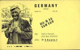 Radio - Germany  - DLR15 150 159 - Kolen - Radio Amatoriale