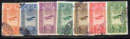 ETP290 - ETIOPIA 1931 ,  Posta Aerea Yvert  N. 11/17 Usata - Etiopia