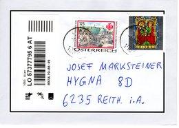 Reko - Brief Von 1053 Wien Mit 270 Cent Grab Zu Jerusalem + Sakrale Kunst 2019 - 2011-... Briefe U. Dokumente