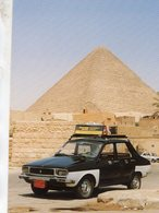 Renault 12 Taxi In Giza, Egypt 2002    -  CPM - Taxi & Carrozzelle