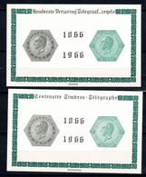Belg. 1966 - E 99/E 100** MNH - Erinnophilie