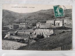 Saint Martin De Valamas. Tissage. Rare - Saint Martin De Valamas