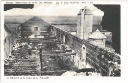 CPA 01 - Marlieux - Abbaye Cistercienne De N D Des Dombes - Le Bâtiment De La Ferme Après L'incendie - Sin Clasificación