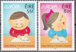Eire 2008 Michel 1826 - 1827 Neuf ** Cote (2015) 4.25 Euro Europa CEPT La Lettre - 1949-... République D'Irlande