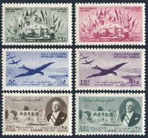 Lebanon 243-244,C150-C153,hinged.Michel 435-440. Conference Of Emigrants,1950. - Lebanon