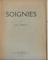 DI/1/ SOIGNIES    1928    14p    Met Fotos - Livres, BD, Revues