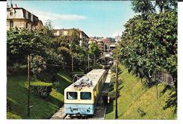 Cpsm Le Métro  Lausanne - Ouchy . - VD Vaud