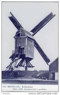 HEFFEN ~ Mechelen (Antw.) - Molen/moulin - Blauwe Prentkaart Ons Molenheem V.d. Gewezen Koutermolen (naar Oude Foto) - Malines