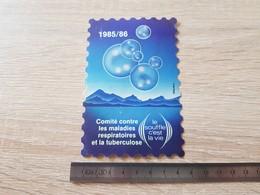 Sticker Autocollant - Comité Contre Les Maladies Respiratoires Et La Tuberculose - Prévention Santé - Adesivi