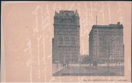 POSTAL NEW YORK - HOTELS NETHERLAND 8 SAVOY NY - PUB BY ILLUSTRATED POSTAL CARD CO - ESTADOS UNIDOS - Bares, Hoteles Y Restaurantes