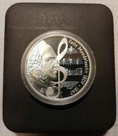 Australia Tuvalu 2009 1 $, 1oz Silver PROOF Coin, 31,135 G, 40,60 Mm, Music Felix Mendelssohn Composer - Tuvalu