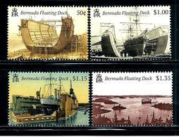 "Bermuda    ""Floating Docks""    New Issue   July-18-2019   Set   MNH - Bermuda"