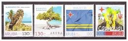 Aruba 2018 Personal Stamps Owl Carnaval Flag MNH - Curaçao, Antille Olandesi, Aruba