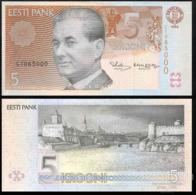 ESTONIA 5 KROONI P.76a 1994 UNC PREFIX CB - Estland