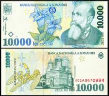 ROMANIA 10000 LEI P.108 1999 UNC - Roemenië