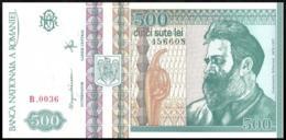ROMANIA 500 LEI P.101b 1992 UNC - Rumania