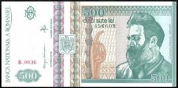 ROMANIA 500 LEI P.101b 1992 UNC - Roemenië