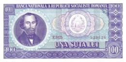ROMANIA 100 LEI P.97a 1966 UNC - Roemenië