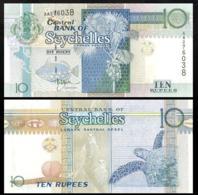 SEYCHELLES 10 RUPIY P.36a 1998 UNC - Seychelles