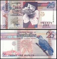 SEYCHELLES 25 RUPIY P.37a 1998 UNC - Seychellen