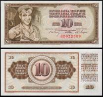 YUGOSLAVIA 10 DINAR 1968 UNC P.82b - Joegoslavië