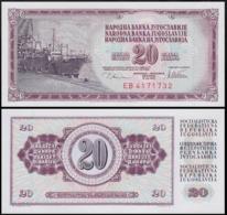 YUGOSLAVIA 20 DINAR 1978 UNC P.88a - Joegoslavië
