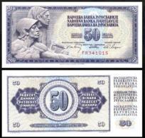 YUGOSLAVIA 50 DINAR 1968 UNC P.83b - Joegoslavië