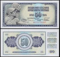 YUGOSLAVIA 50 DINAR 1978 UNC P.89a - Joegoslavië