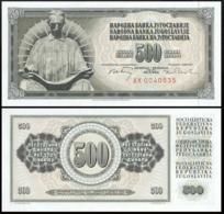 YUGOSLAVIA 500 DINAR 1970 UNC P.84b - Joegoslavië