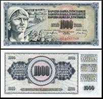YUGOSLAVIA 1000 DINAR 1974 UNC P.86 - Joegoslavië