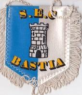 Fanion  Tissu S.E.C BASTIA - Patches