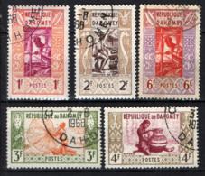 DAHOMEY - 1961 - IL LAVORO IN AFRICA - USATI - Benin – Dahomey (1960-...)