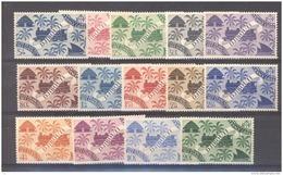 Côte Des Somalis  :  Yv  234-47  **                 ,     N3 - Frans-Somaliland (1894-1967)