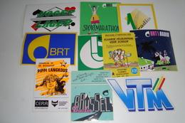 10 Stickers - Autocollants - Autocollants