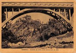 """4849 """" GOMBOLA-CASTELLO DA SOTTO PONTE NUOVO """"- CART. POSTALE ORIGINALE NON SPED. - Italia"""