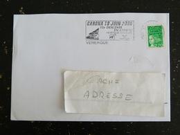VENERQUE - HAUTE GARONNE - FLAMME GARONA 2000 15e DESCENTE RADEAU SUR MARIANNE LUQUET - Mechanical Postmarks (Advertisement)