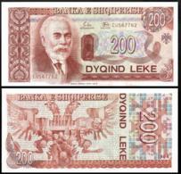 ALBANIA 200 LEK 1994 UNC P.56a - Joegoslavië