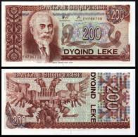 ALBANIA 200 LEK 1996 UNC P.59a - Joegoslavië