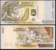 ALBANIA 5000 LEK 1996 UNC P.66a - Yougoslavie