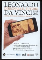 CARTOLINA COMMEMORATIVA - TORINO 2019 - MOSTRA SU LEONARDO DA VINCI - Pittura & Quadri