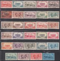 1933-38   Yvert Nº 133 / 154 - Martinica (1886-1947)