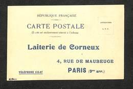 70 - CORNEUX - Laiterie De Corneux - Carte PUB (Commande) - 190? - RARE - Francia