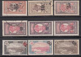 1920-25   Yvert Nº 83 / 85, 86 / 91 - Martinica (1886-1947)