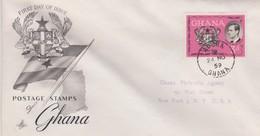 Ghana 1959 Prince Phillip FDC - Ghana (1957-...)