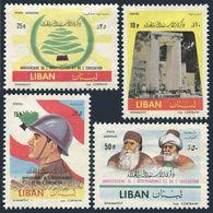 Lebanon 374-375,C329-330,MNH.Michel 753-756. UNESCO,Independence,15th Ann.1961. - Lebanon